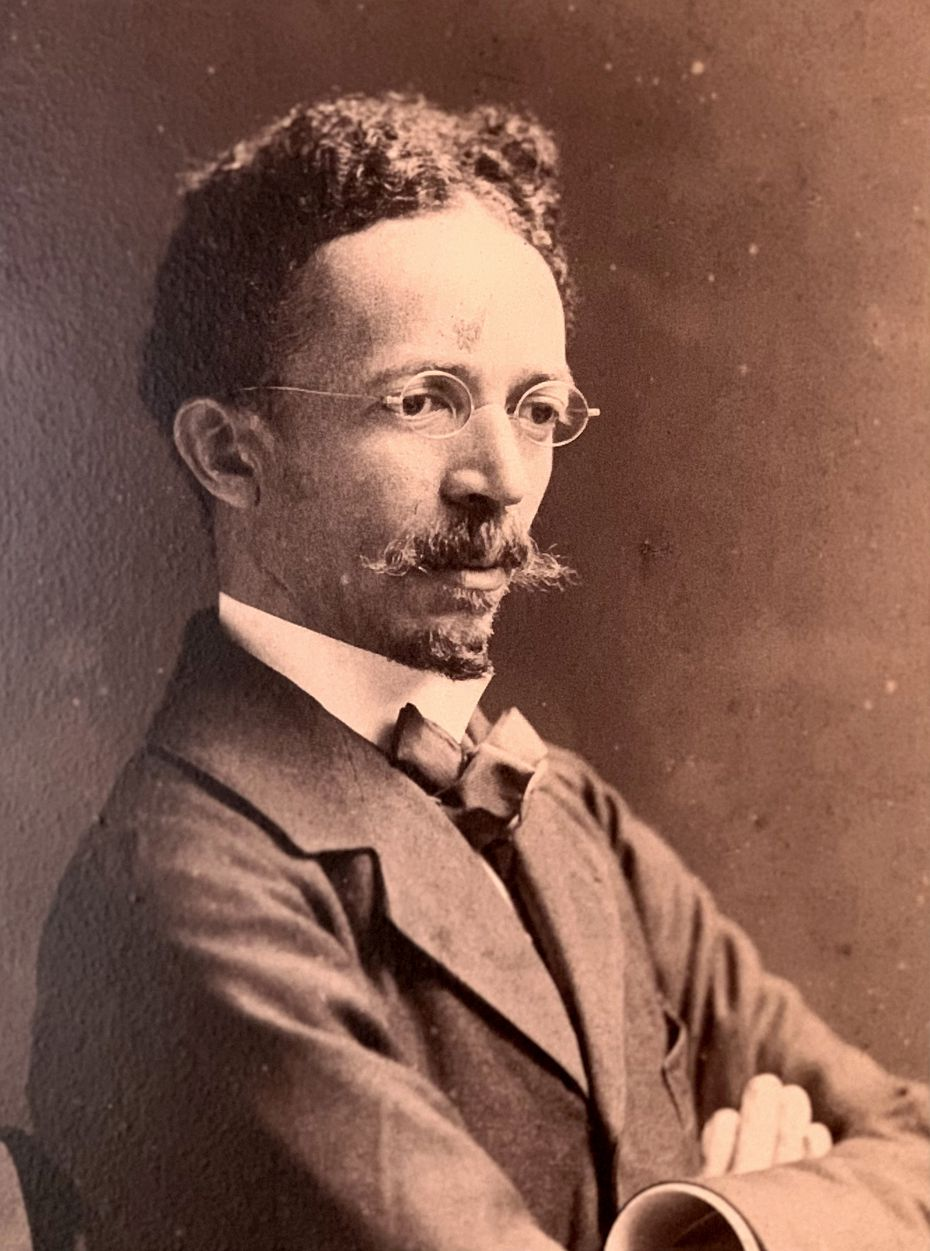 Henry Ossawa Tanner was photographed in 1907 by Frederick Gutekunst.