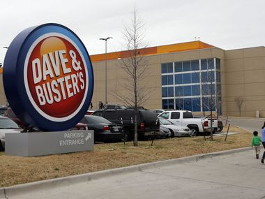 The Dave & Buster's location at 9450 N. Central Expressway in Dallas.