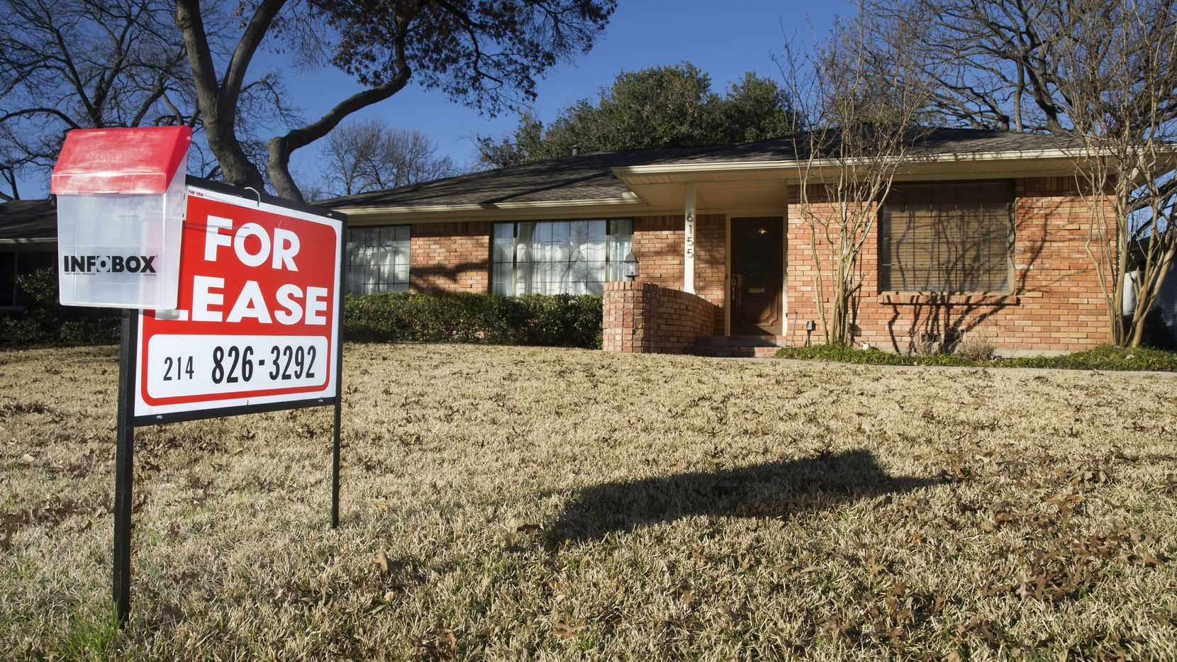 Single-family home rents in the Dallas area are up 2.4%.
