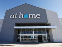 Exterior of At Home in Plano, Texas, Friday, January 12, 2018. At Home is a superstore with 149 large format stores in 34 states. (David Woo/The Dallas Morning News)