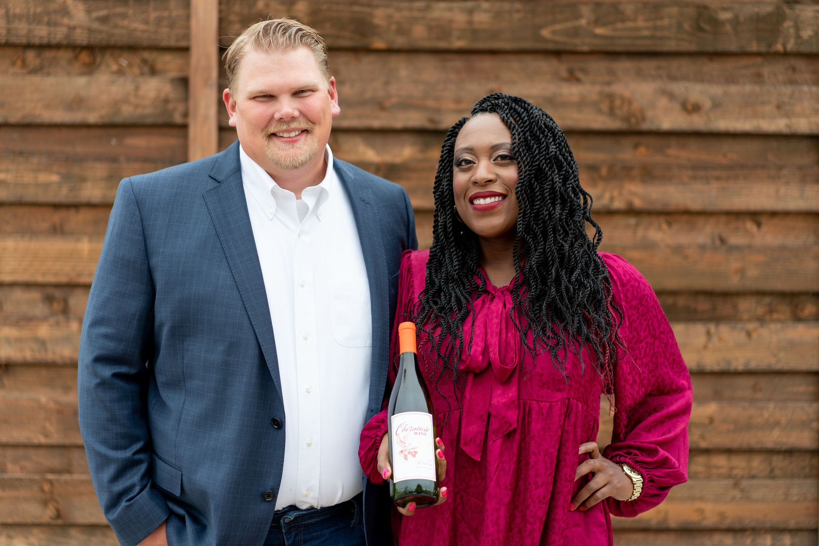 Cheramie Law and husband Todd have launched Cheramie Wine, 100% Texas grown and produced wine.