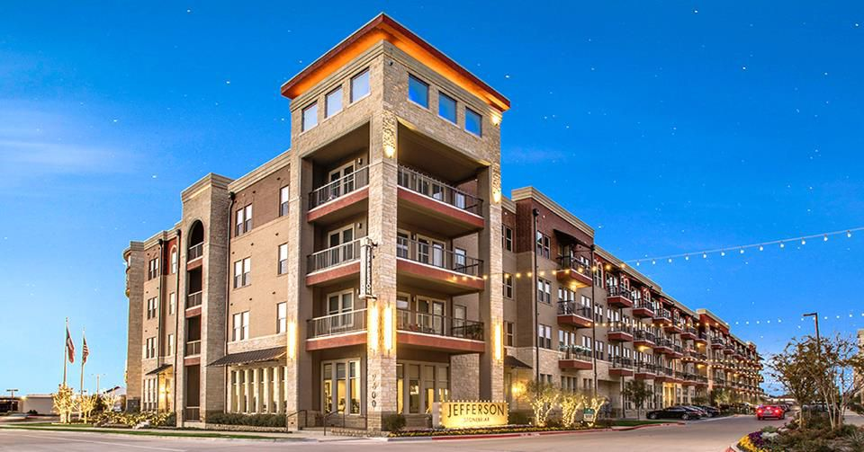 The Jefferson Stonebriar apartments were purchased by Bascom Group.
