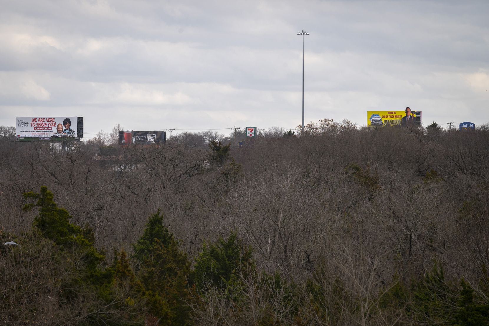 The newly acquired 82 acres near Interstate 35E in southern Dallas include an estimated 16,000 trees, according to the Trust for Public Land, which was instrumental in making the deal.