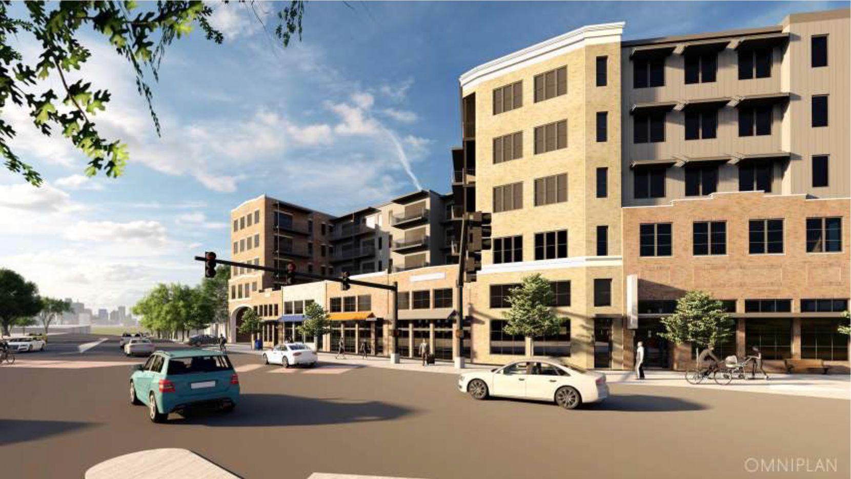 Construction on Zang Flats, which will feature a pool, coworking space, a gym, a dog wash, a resident bicycle repair shop, a dedicated Uber loading zone and electric vehicle charging, will begin in May.
