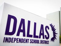 Exterior view of the Dallas ISD Administration Building.