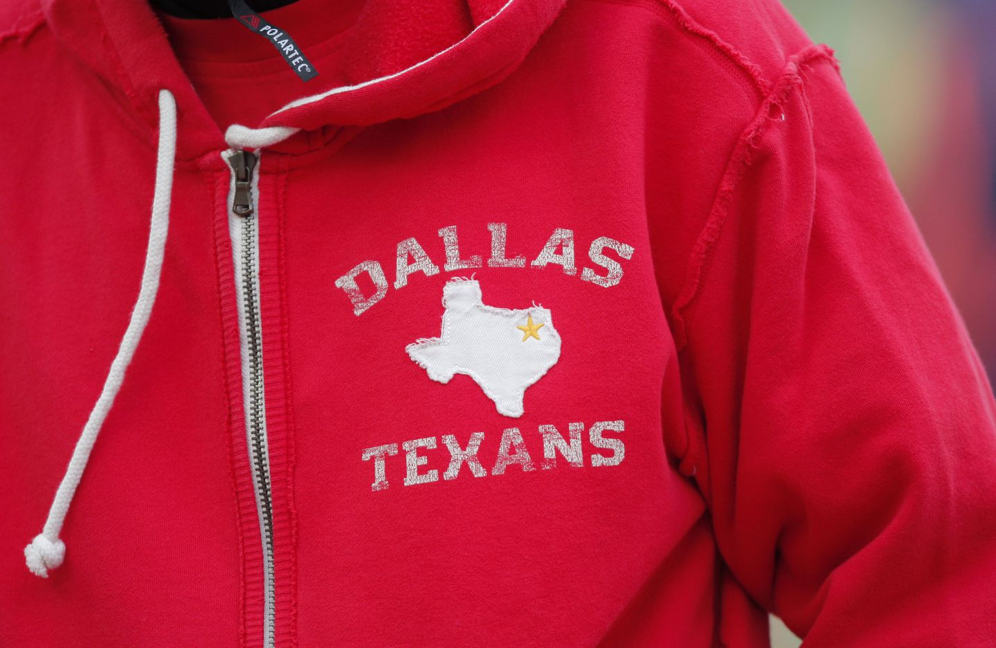 Kansas City Chiefs coaches wore Dallas Texans throwback zipper hoodies for an October 2009 game against the Dallas Cowboys at Arrowhead Stadium in Kansas City, Mo. The franchise was founded as the Dallas Texans by oil magnate Lamar Hunt, who moved the franchise to Kansas City in 1963.