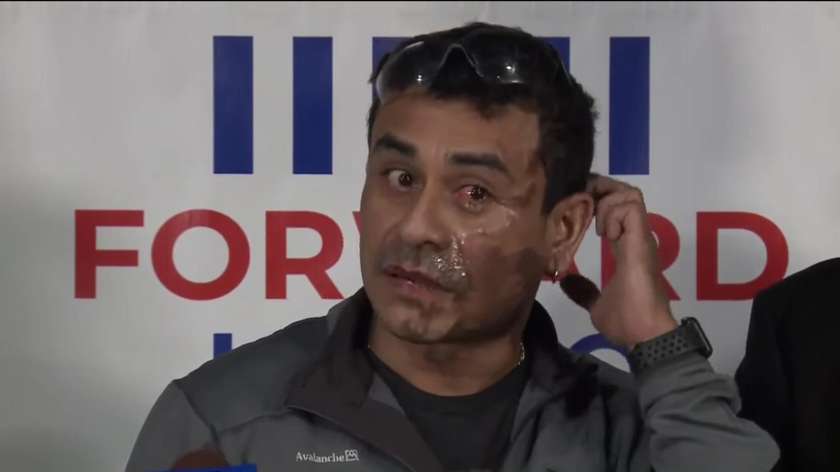 Mahud Villalaz explicó el ataque en una conferencia de prensa en Milwaukee.