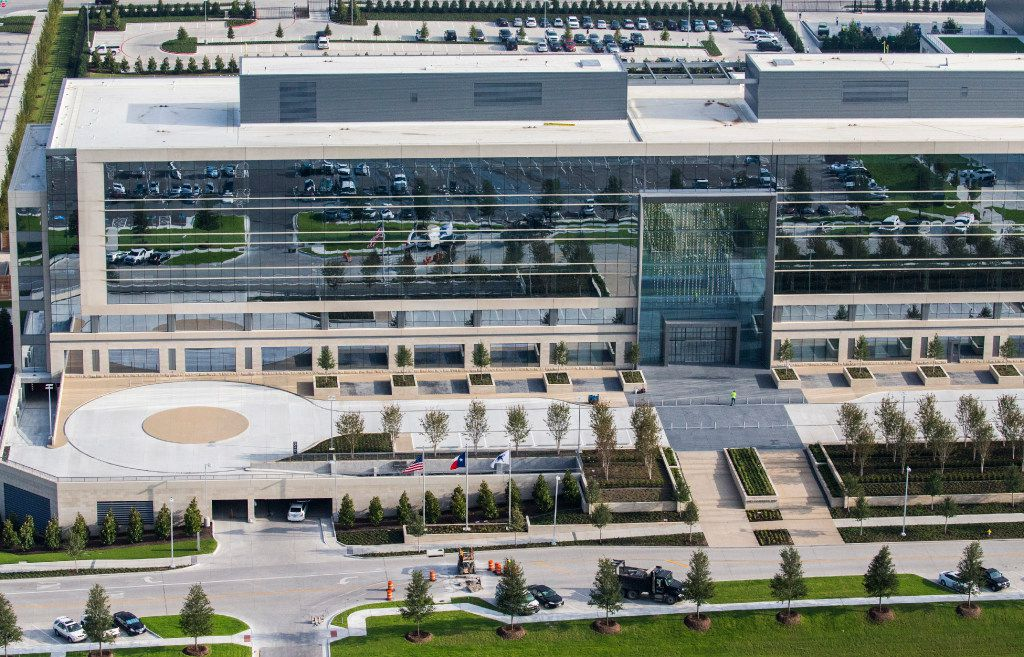 FILE - Corporate offices at The Star, the world headquarters and practice facility of the Dallas Cowboys, are pictured here on Tuesday, Sept. 13, 2016 in Frisco.