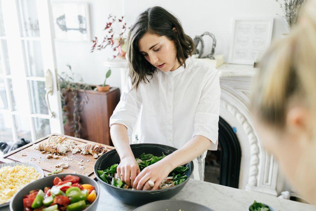 Inspired by::Julia Sherman::Salad for President