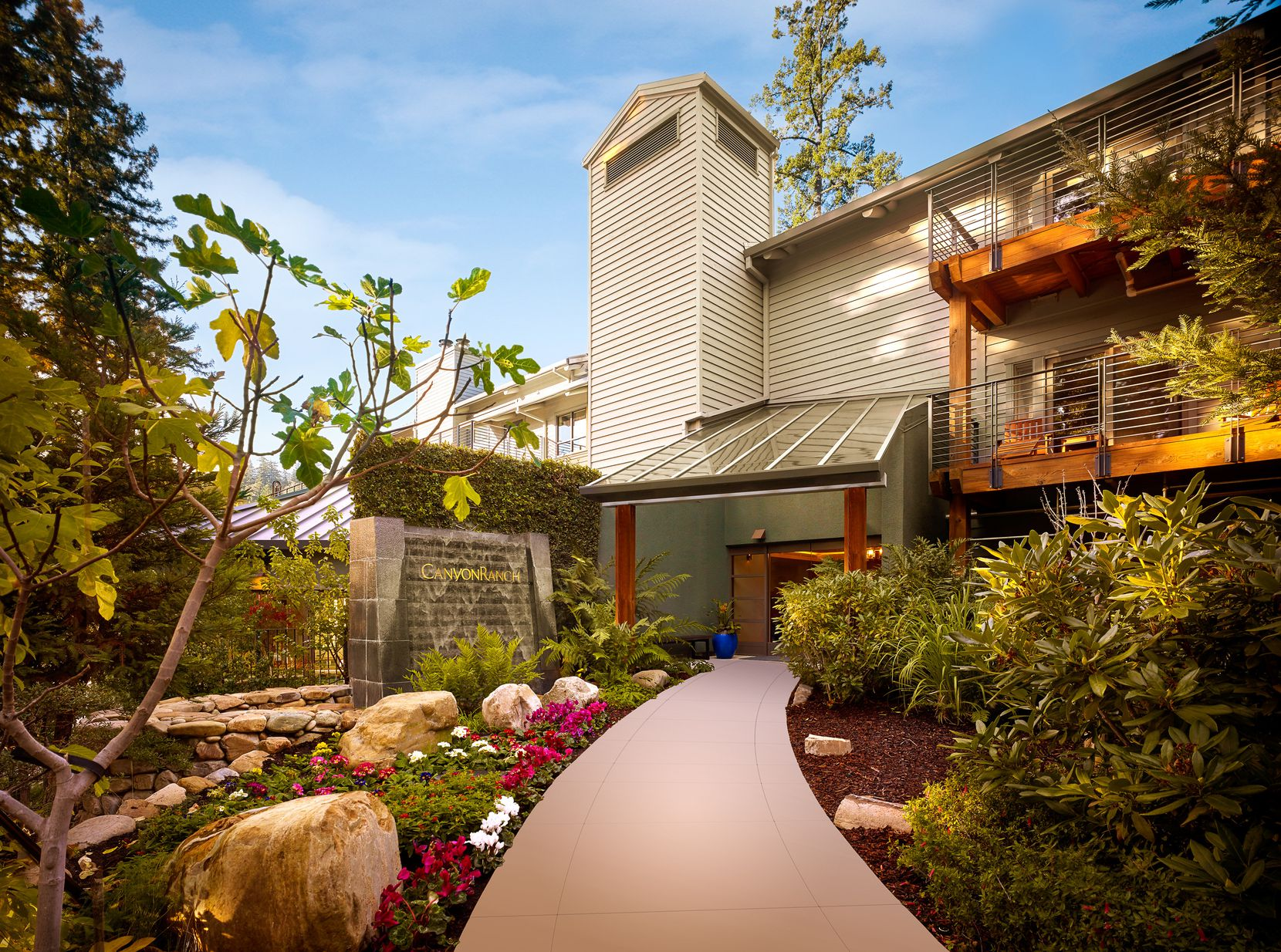 Canyon Ranch's newest facility is its retreat in Woodside, California.