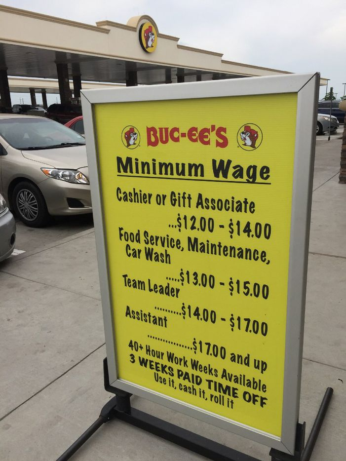 Buc-ee's convenience store in Temple, Texas, in a photo dated May of last year.