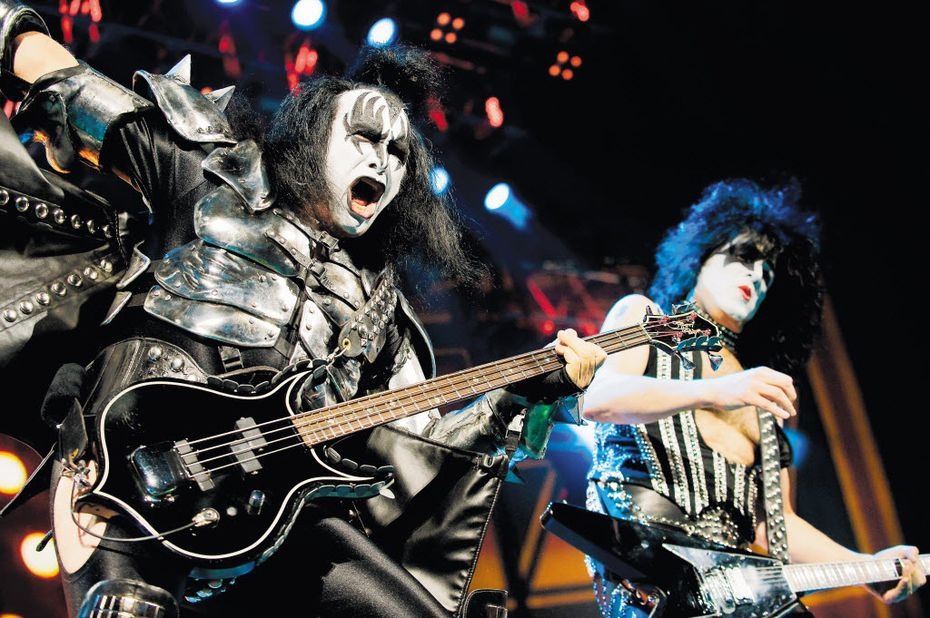 """Gene Simmons, left, and Paul Stanley, of KISS, are co-founders in a restaurant coming to The Colony. """"I've always had the philosophy, eat at your favorite restaurant but don't become a partner,"""" Stanley says. """"But Rock and Brews is just something that is undeniable and that I had to be a part of."""""""