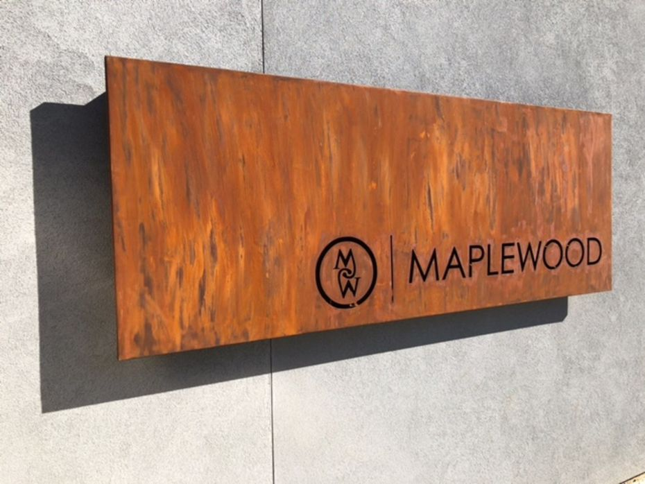 This is the most I've seen of Maplewood, a private social club opening soon in Dallas.