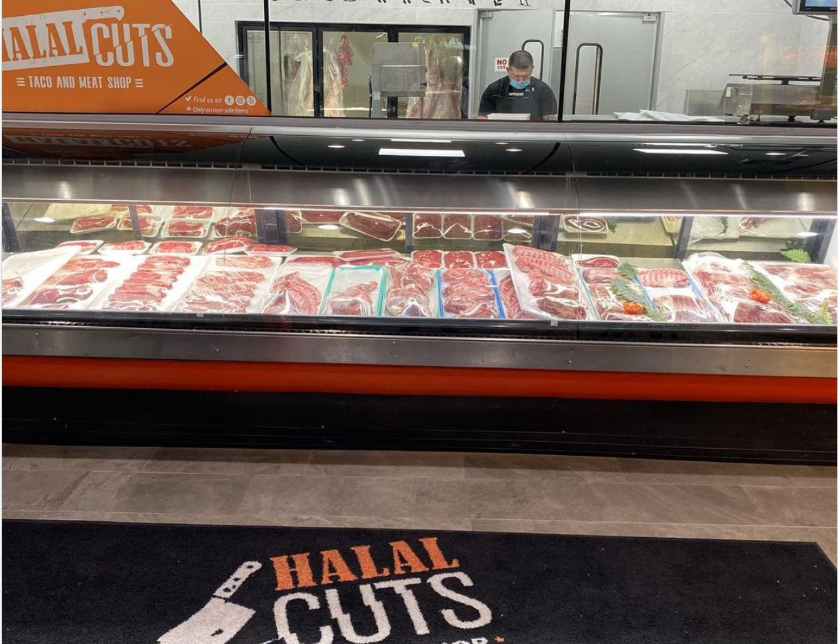 Halal Cuts, a butcher and taco shop, is now open in Irving.