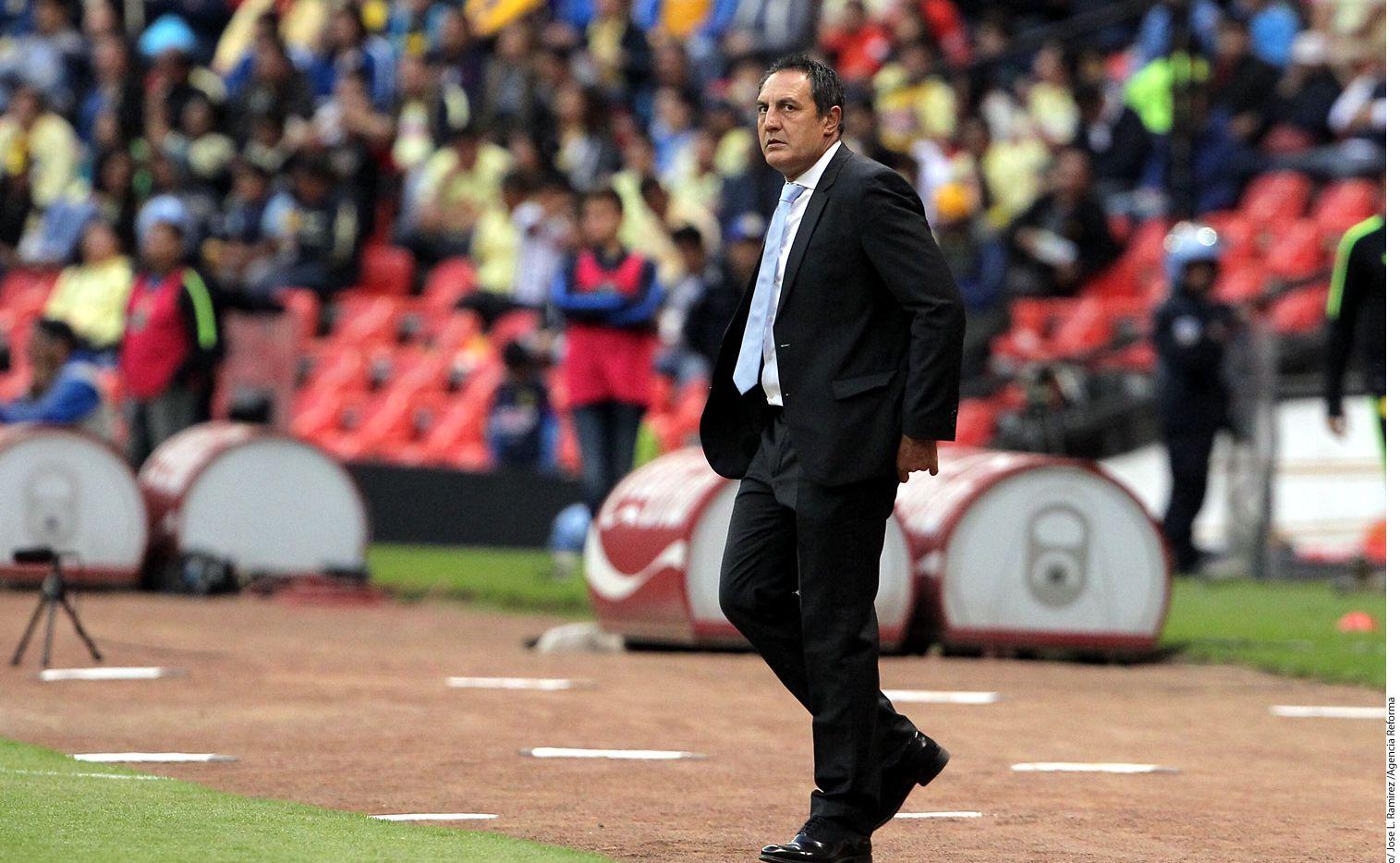Pablo Marini reemplaza a Roberto Hernández, quien dirigió al Morelia en calidad de interino. AGENCIA REFORMA