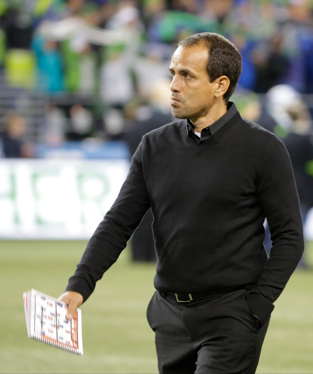 Oscar Pareja, entrenador del FC Dallas.