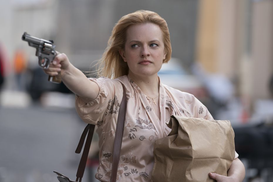"Elisabeth Moss en una escena de ""The Kitchen""."