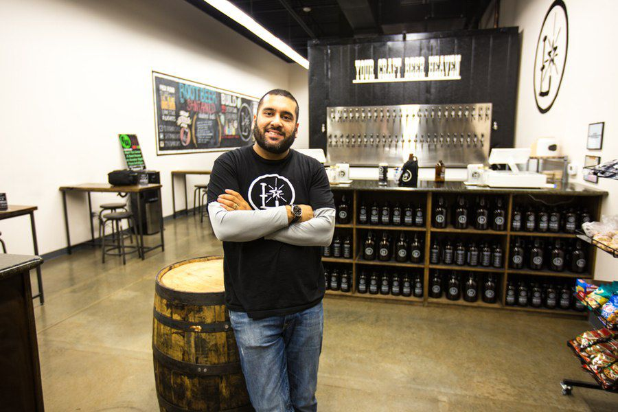 Rick Ali, co-owner of Lone Star Taps and Caps in Lewisville and Lonestar Beverages in Carrollton.