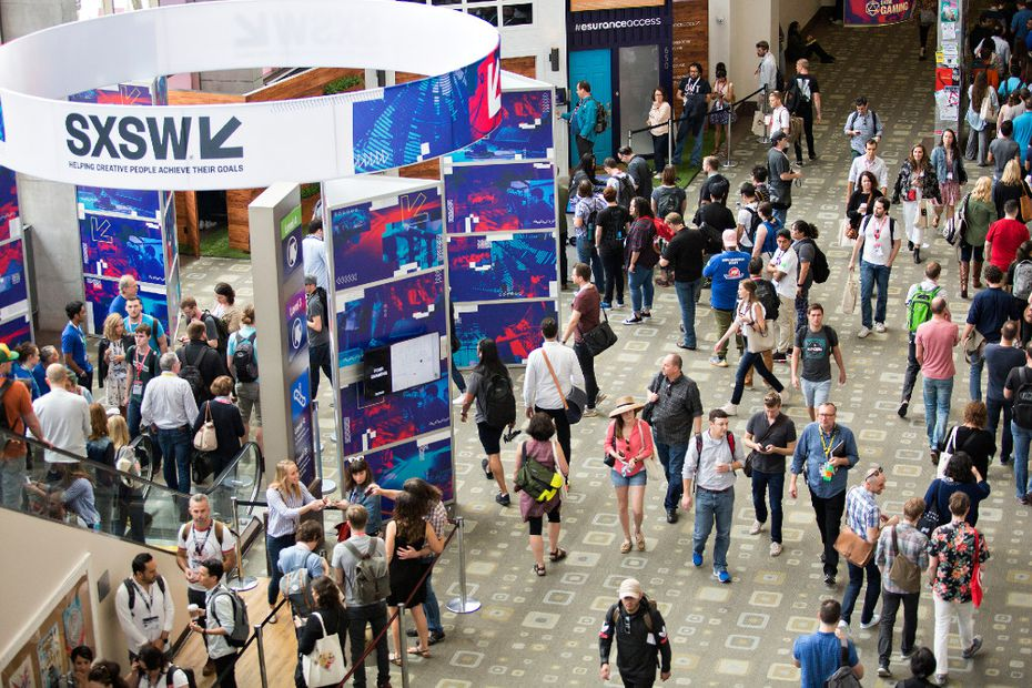 SXSW fills Austin with festivalgoers for weeks every spring as its highlights what's new in technology, film and music.