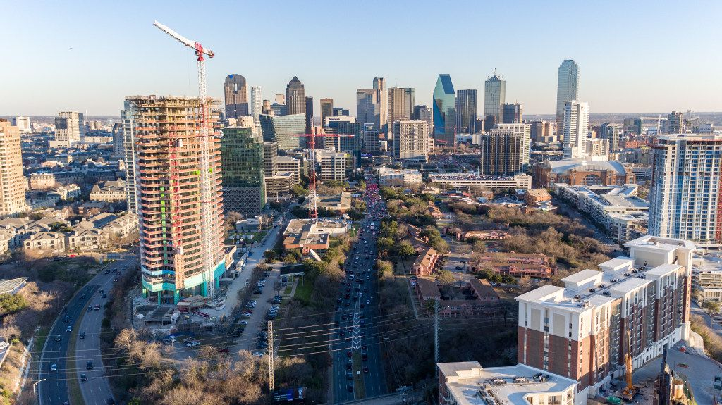 The Harwood District, which encompasses 18 city blocks in Dallas, currently has 4.9 million square feet of office, residential and retail space built or under construction with another 5-plus million square feet in its master plan