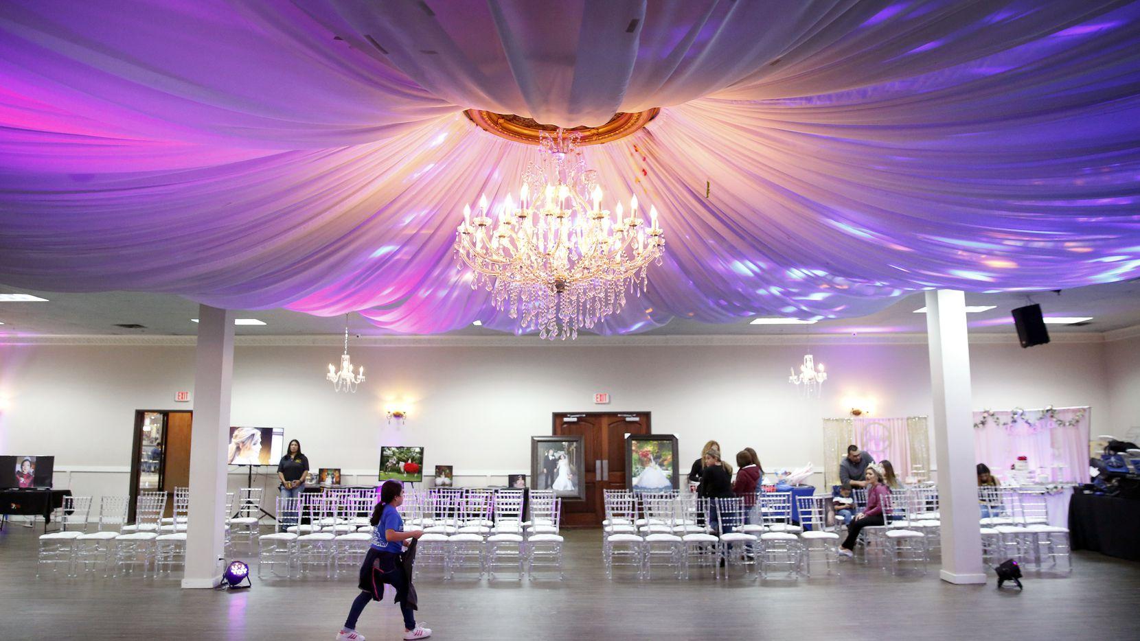 La asistencia fue baja al evento Las Lomas Quinceañera & Wedding Expo el domingo 15 de marzo en Irving Banquet Halls.