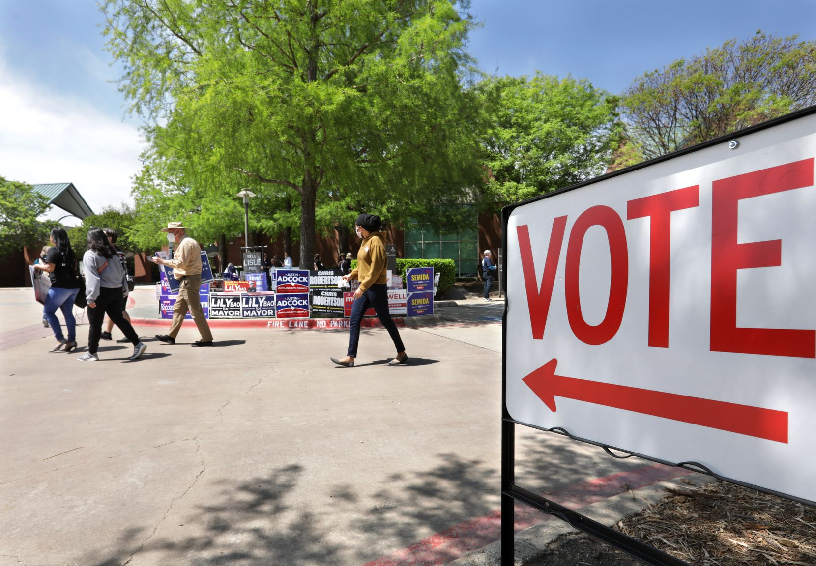 Residents across North Texas are able to participate in early voting for city and school races through April 27. Election Day is May 1.