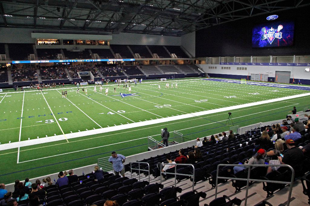 The Patriot Cup lacrosse tournament was held at The Ford Center at The Star in Frisco on Saturday, February 18, 2017. (Stewart F. House/Special Contributor)