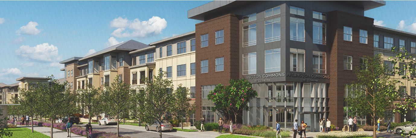 The Arlington Commons project is on East Lamar Boulevard.