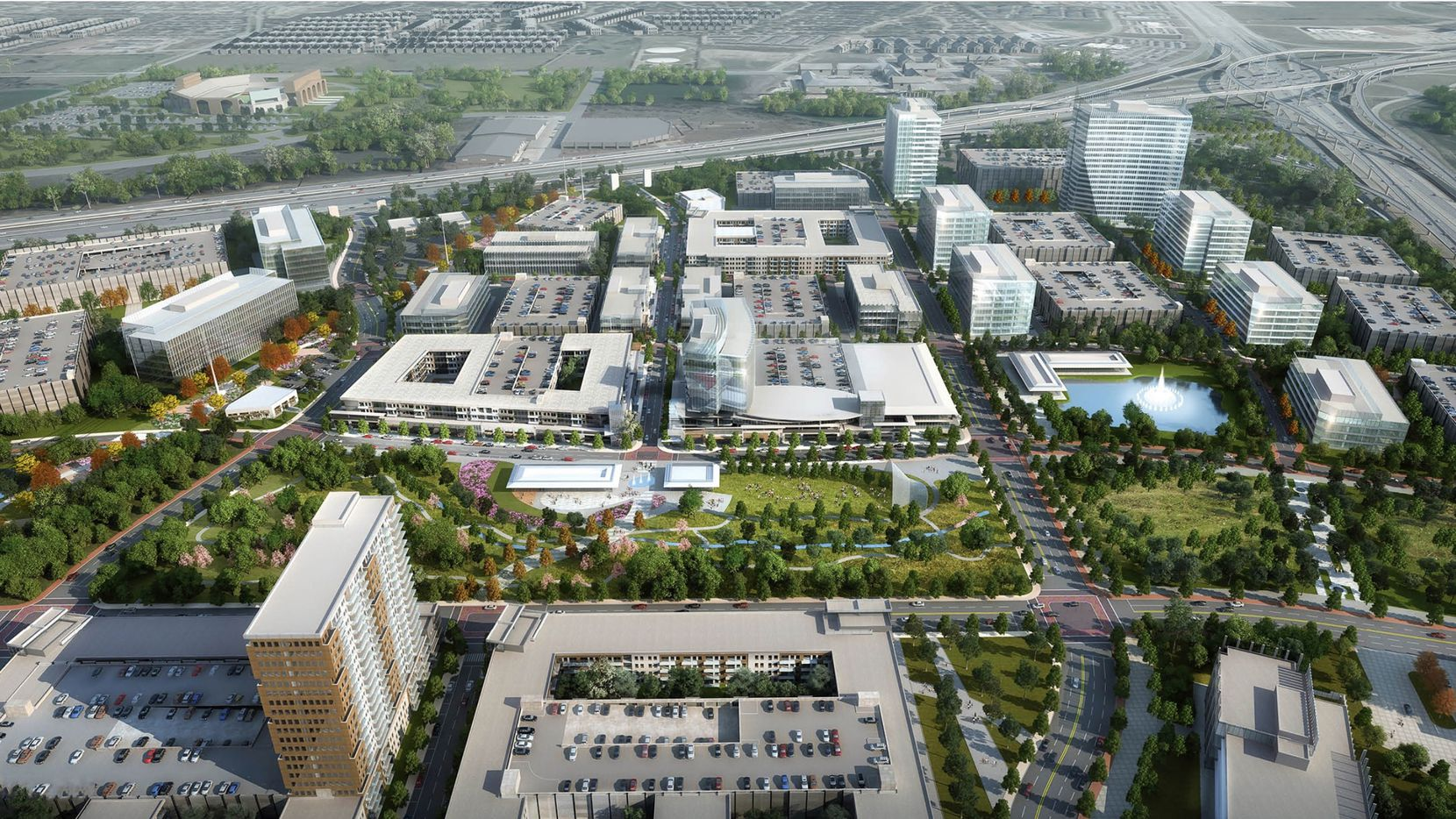 Monarch City in Allen was planned for more than 10 million square feet of construction.