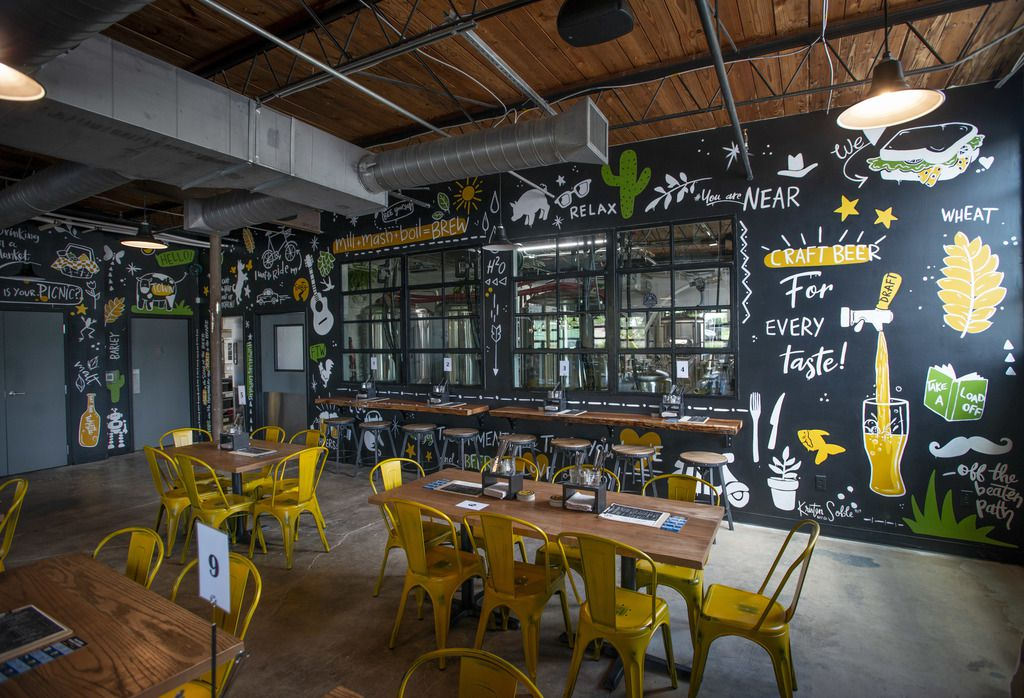 Funky Picnic Brewery and Cafe opened in Fort Worth's Near South Side neighborhood over the summer.