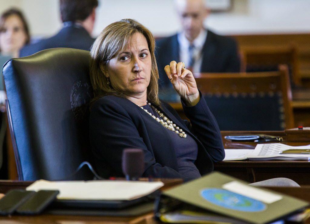 Sen. Konni Burton, R-Colleyville, has filed legislation to overhaul the state's civil asset forfeiture system. (Ashley Landis/The Dallas Morning News)