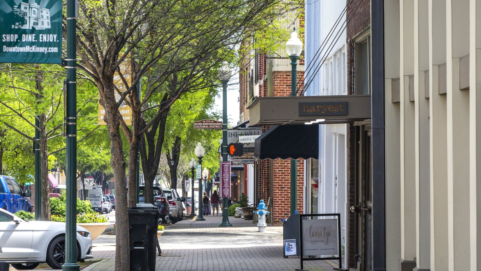 Historic Downtown McKinney plays host to a Wine and Music Festival this weekend.