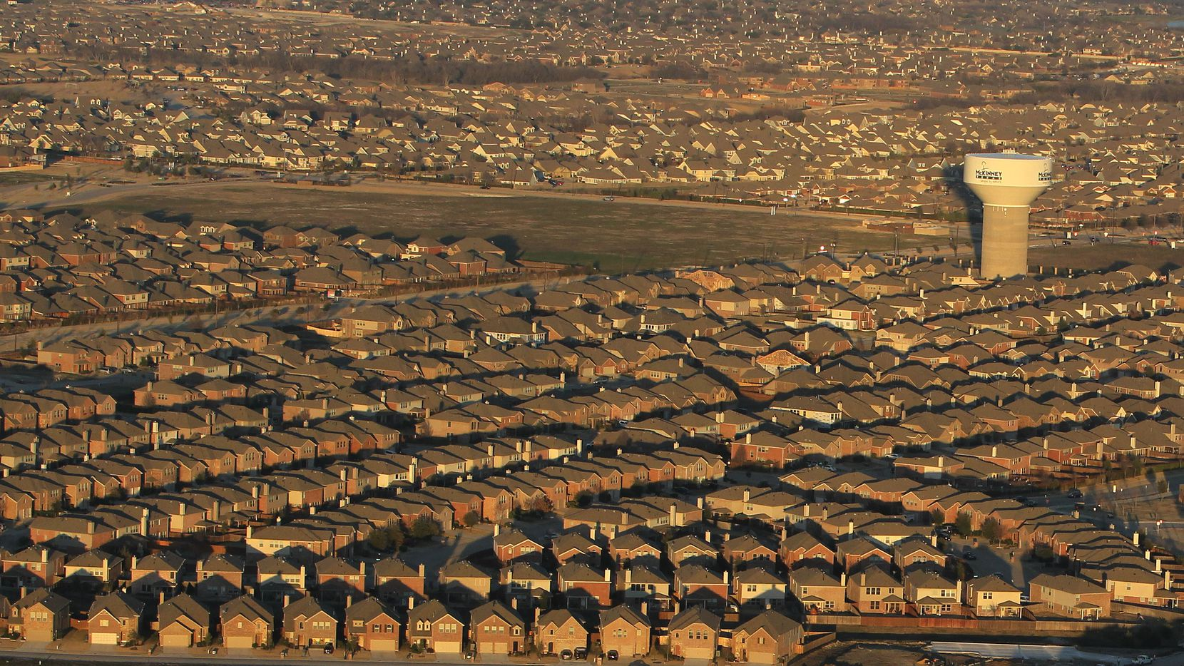The planned McKinney residential community will have room for thousands of new homes.
