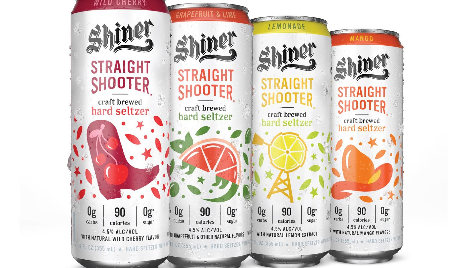 The Spoetzl Brewery in Shiner, Texas announced Tuesday, Aug. 4, that it plans to release a hard seltzer, dubbed Shiner Straight Shooter. It will include four flavors, Wild Cherry, Lemonade, Mango and Grapefruit & Lime, and will hit the Texas market at the end of August.