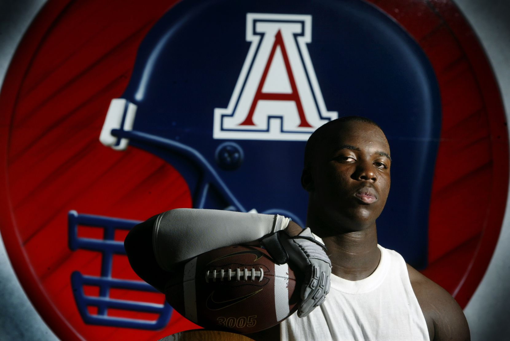 A file photo of Marcus Shavers from 2004. He graduated from Allen High School.
