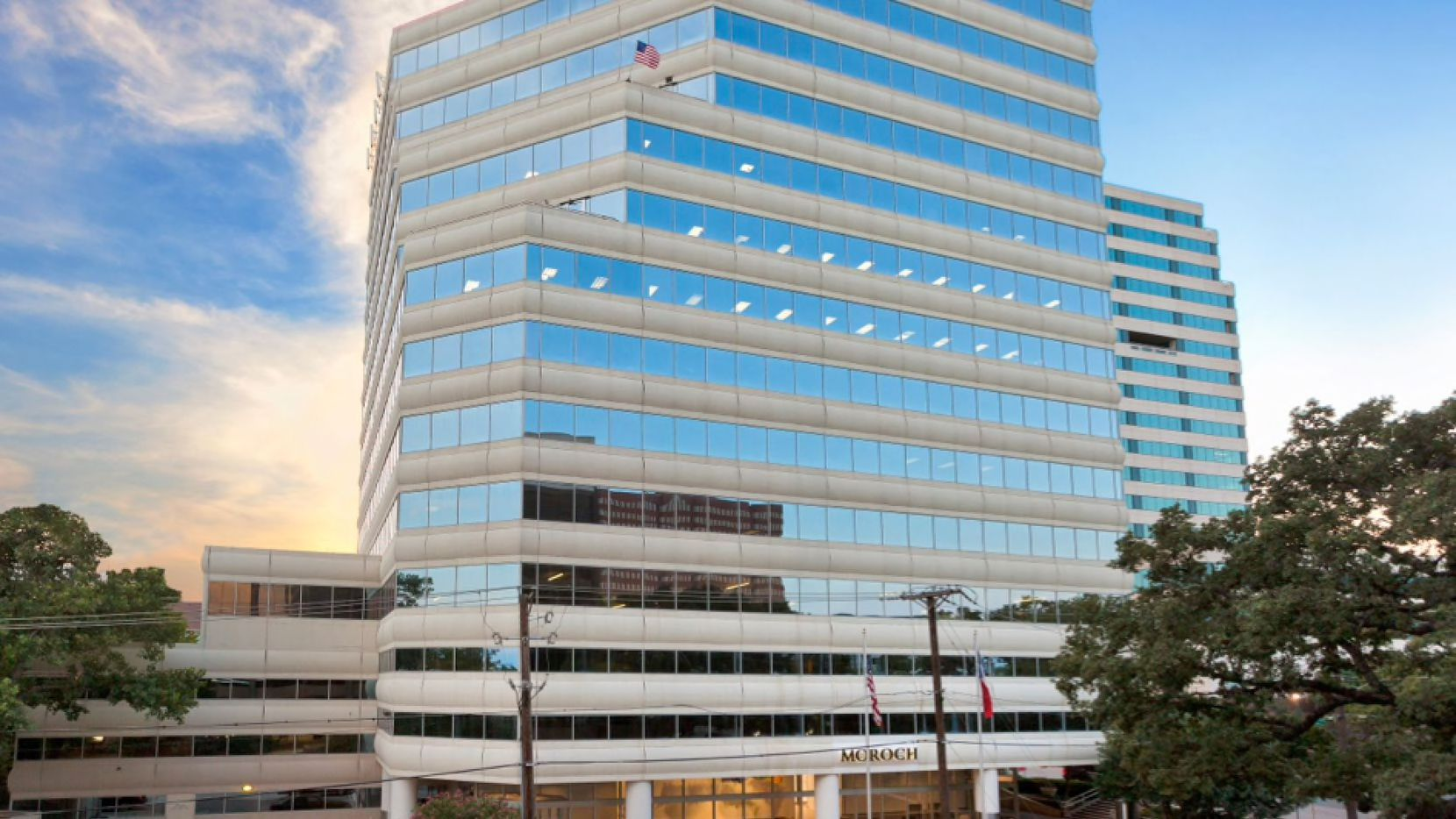 The Park Creek Place office tower last sold in 2018.