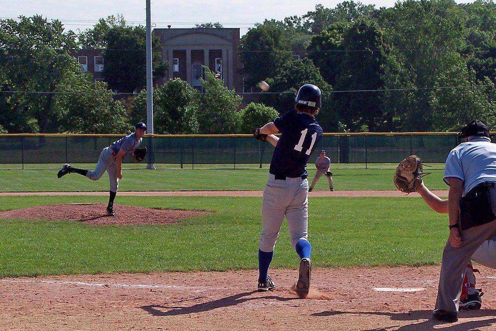 Kyler Brown at bat on June 19, 2009.