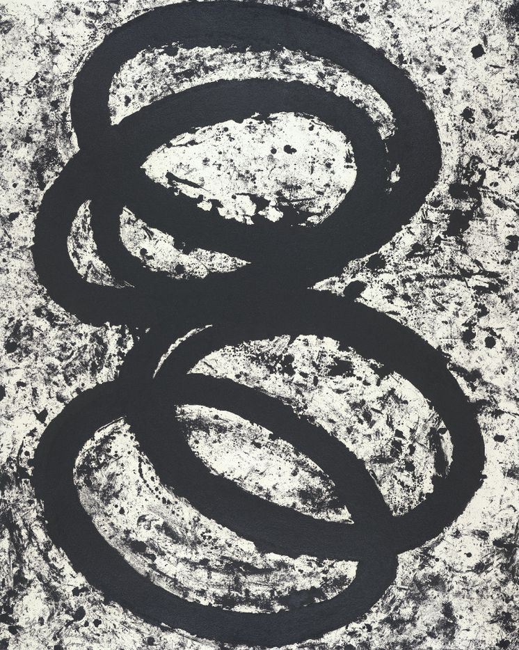 T.E. Which Way Which Way?, a 2001 edition lithograph and etching.