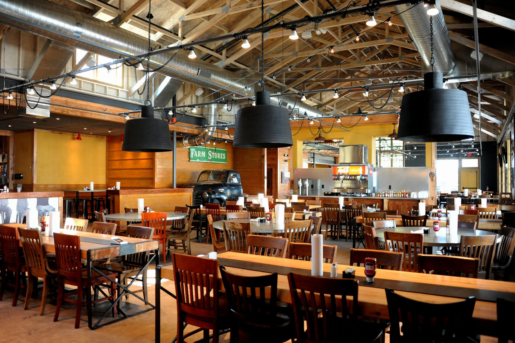 The 10,000-square-foot space seats 290 guests.