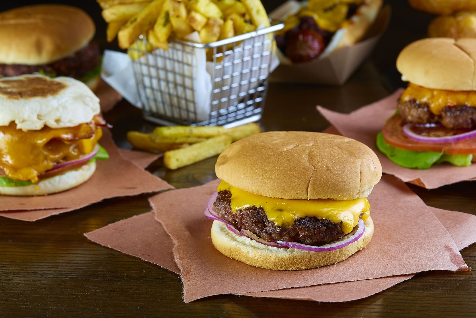 Knife Dallas now offers its gourmet burgers and aged steaks for takeout. The full takeout menu is available Sundays through Wednesdays.