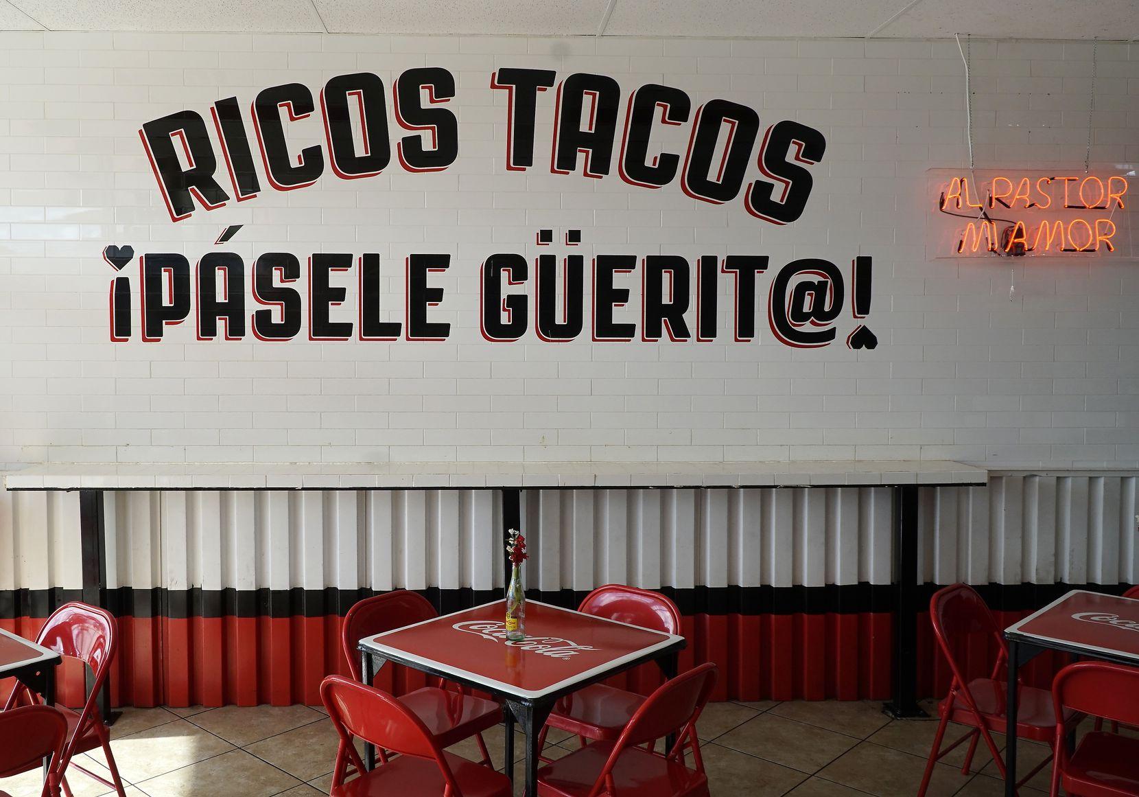 Chilangos Tacos on Harry Hines in Dallas