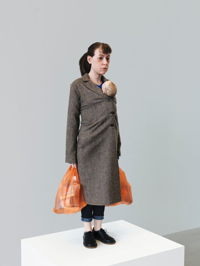 Ron Mueck 'Woman with Shopping,' 2013 Mixed media