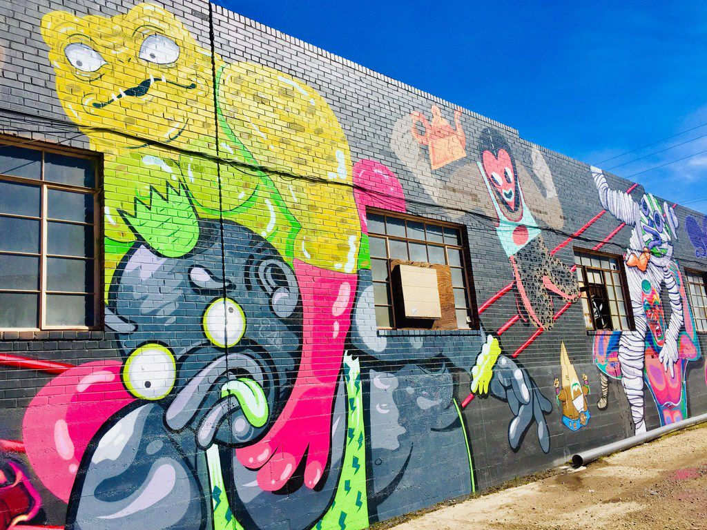 In Denver's RiNo (River North) area, you can check out 300 street murals.