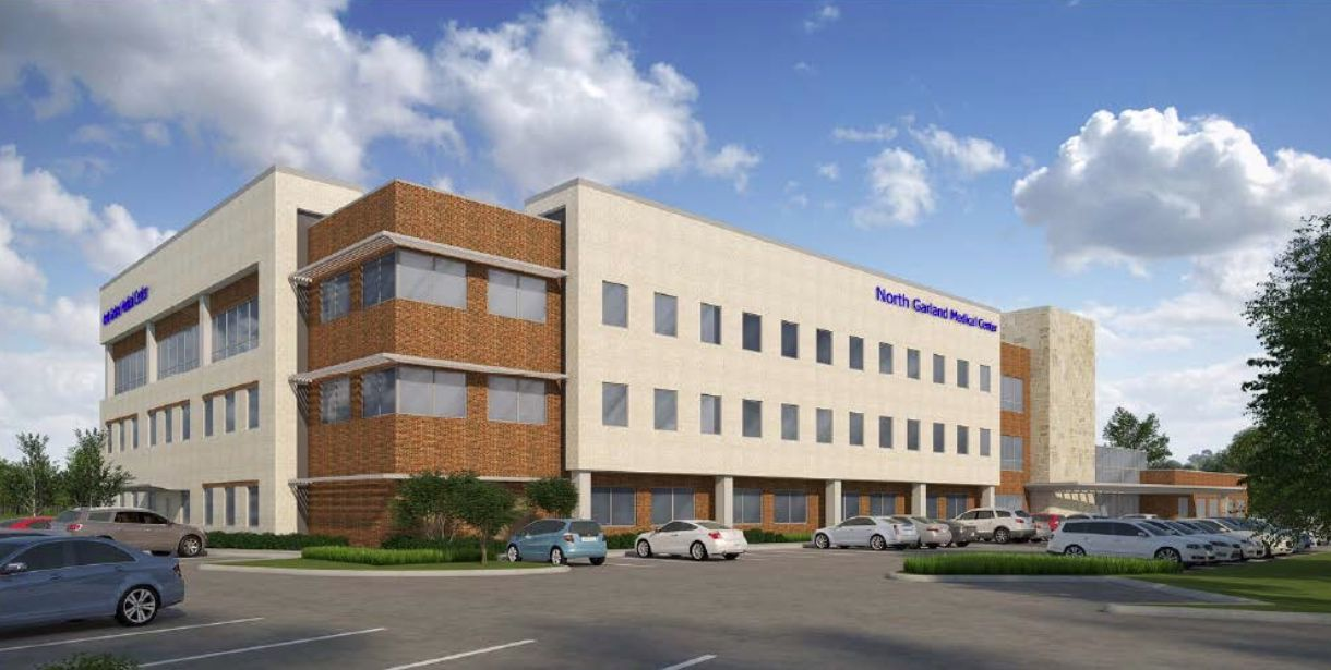 North Garland Medical Center will be built near Bush Turnpike.