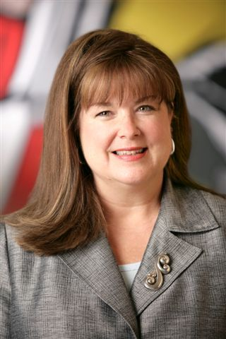 Terri West, chair of the Texas Instruments Foundation.