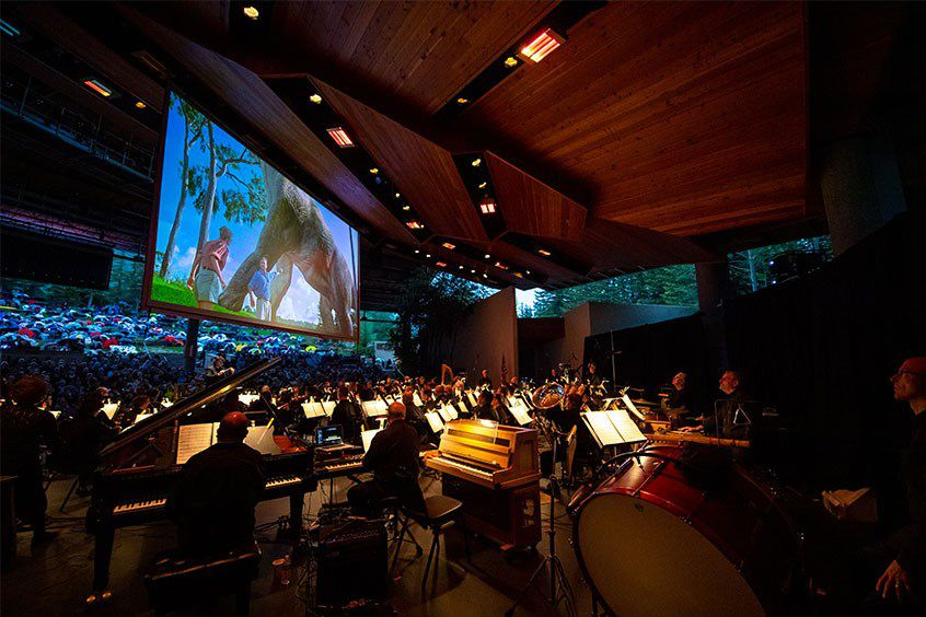 The Dallas Symphony Orchestra performs at the Bravo! Vail Music Festival in 2019. Before it was canceled, the festival had booked the DSO for July 1-6 to play a patriotic concert as well as classical and pops.