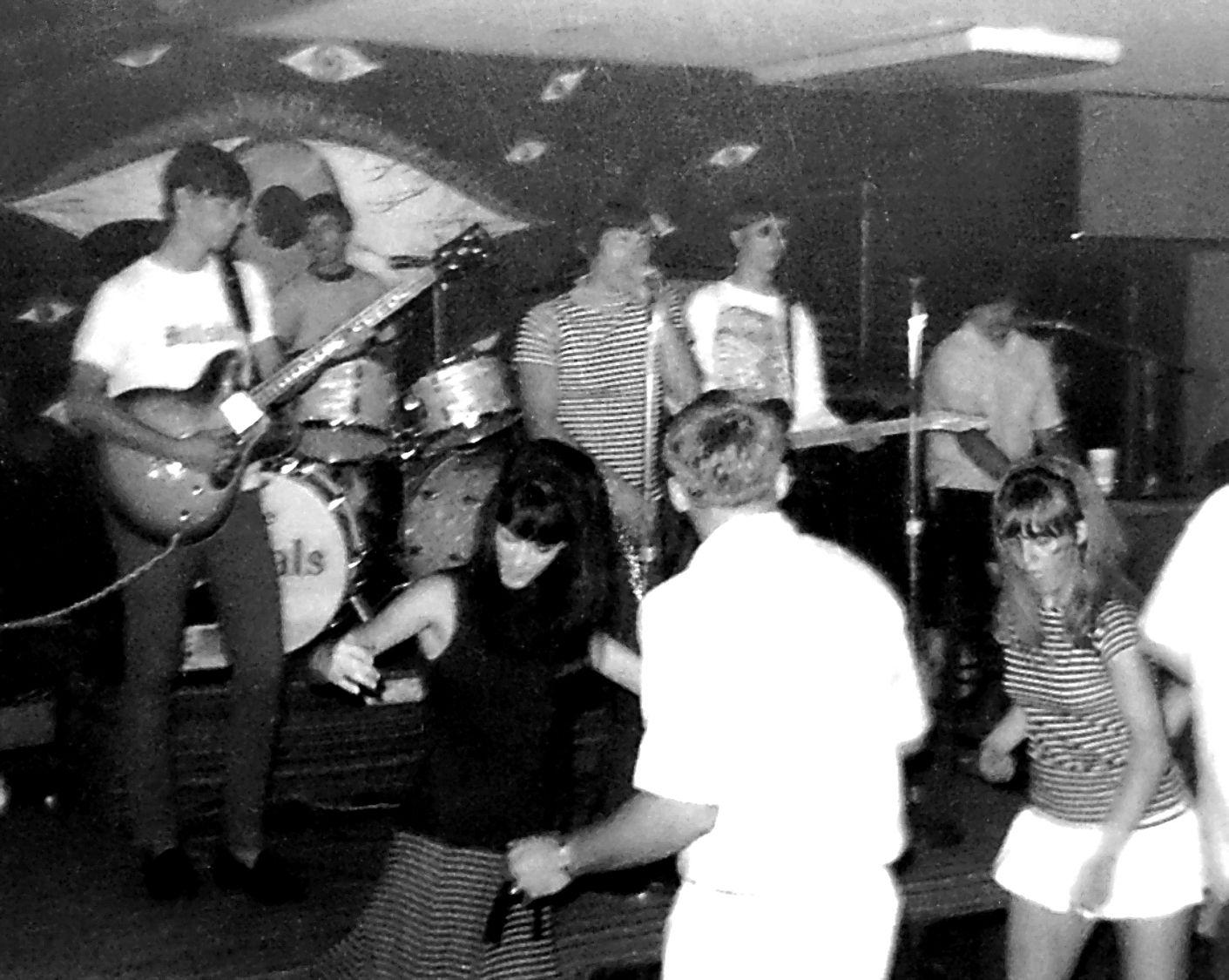 The Jackals, a '60s-era North Texas rock band, perform at the Three Thieves.