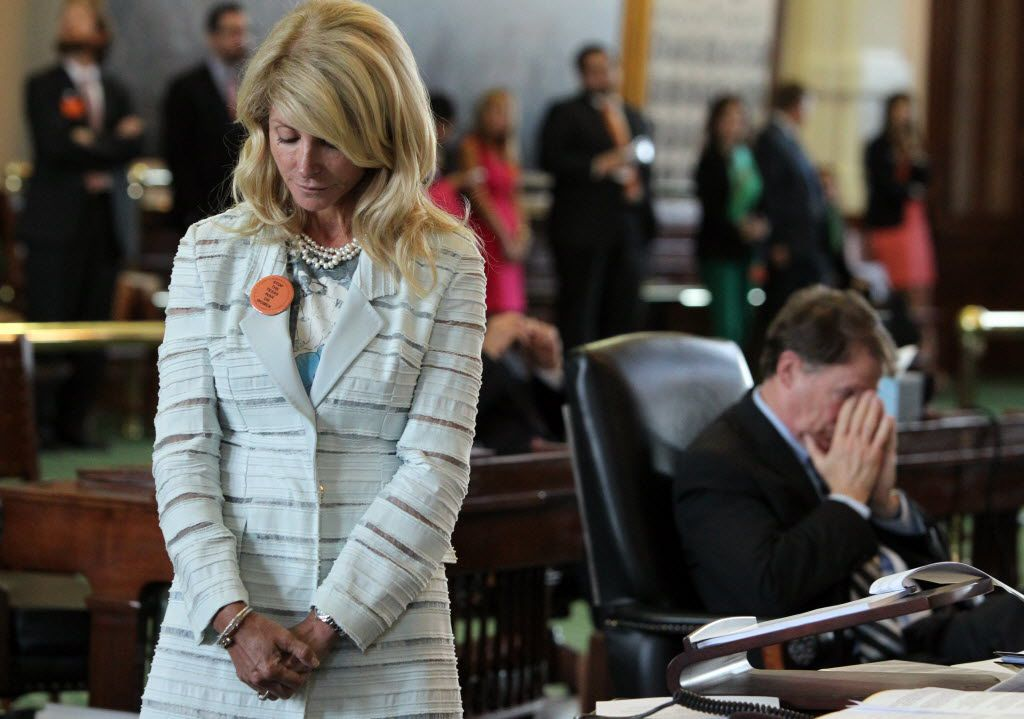 Davis' filibuster succeeded in killing a restrictive abortion bill as time expired on a special session in 2013. However, the Texas Senate passed the legislation and sent it to Gov. Rick Perry's desk about two weeks later.