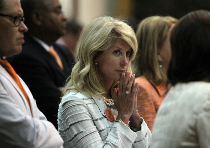 Wendy Davis became a Democratic star after her filibuster against abortion regulations during the Legislature's special session last summer. She defends the accuracy of her overall account about how she rose from poverty as a young single mom.