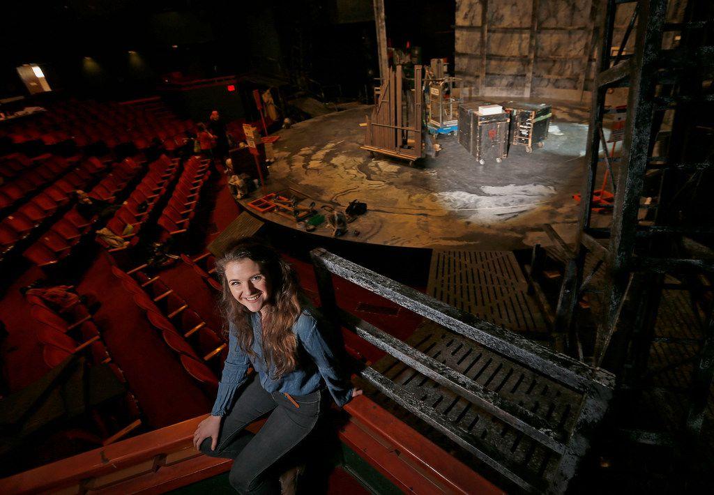 SMU graduate student Amelia Bransky designed the set of Frankenstein at Kalita Humphreys Theater in Dallas.
